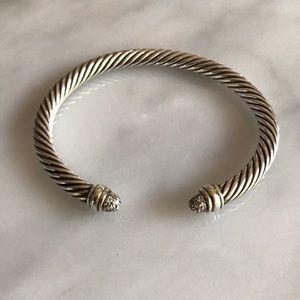 David Yurman 5mm Pave Diamond Bracelet